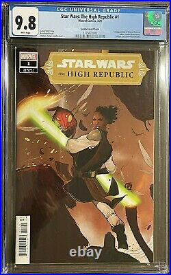 Star Wars The High Republic #1 (2020, Marvel) 125 Sway Variant Cgc 9.8
