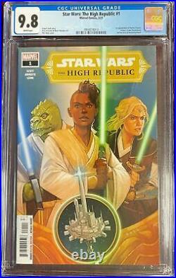 Star Wars The High Republic #1 CGC 9.8 First Print