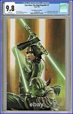 Star Wars The High Republic #1 CGC 9.8 Italian Edition Variant Virgin Dell'Otto