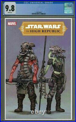 Star Wars The High Republic #1 (marvel) 110 Kenny Concept Variant Cgc 9.8
