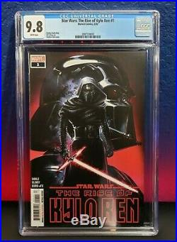 Star Wars The Rise of Kylo Ren #1 CGC 9.8 NM+ MT 1st Print Marvel