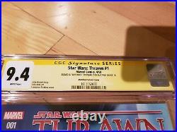 Star Wars Thrawn #1 2018 150 Incentive SS by Francesco Mattina Variant, CGC 9.4
