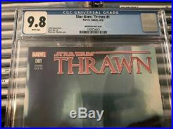 Star Wars Thrawn #1 CGC 9.8 150 Francesco Mattina Variant Gorgeous Rare