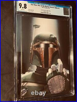 Star Wars War Of The Bounty Hunters Alpha #1 Inhyuk Lee Virgin Cgc 9.8 Nm/mt