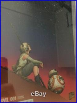 Star Wars the Force Awakens Adaptation #1 Quesada 1100 Variant CGC 98 NM+/MT