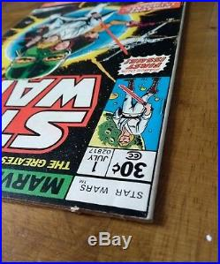 Star wars 1977 issue 1 CGC this! Excellent