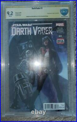 Star wars Darth Vader #3. 1st app of Dr. Aphra CBCS SS 9. 2 (Not CGC)