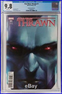 Thrawn 1 150 CGC 9.8 Francesco Mattina Variant Star Wars Comic NM/MT Marvel