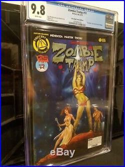 Zombie Tramp #11 Star Wars Homage Mile High Variant! Rare HTF CGC 9.8 NM